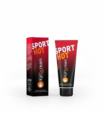 KYROCREAM SPORT HOT CREMA MASAJE DEPORTIVO 120ml 169753  MONOVARSALUD