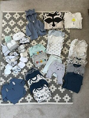 Baby Boy Clothes 0-1 Months (Next, M&S, TU) perfect Condition