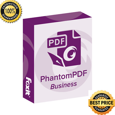 Foxit Phantom PDF 9.2 Business - View, create, manipulate, print and manage PDF