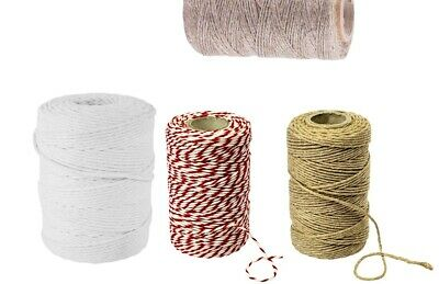Strong 3ply Cotton Linen Sausage Twine threads Smoking String For Tying Meat