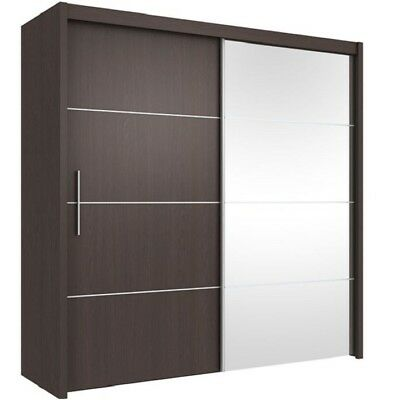 AM Carlo Range :  Bedroom Sliding Mirror Wardrobes : Bedside : Chest of Drawers