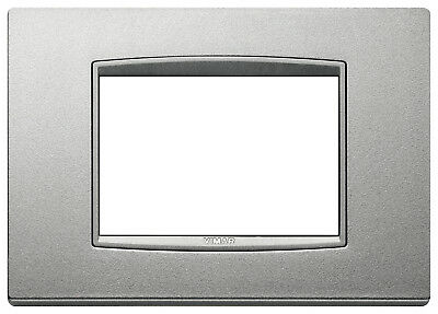 VIMAR 20653.N13  Placca Classic 3M argento