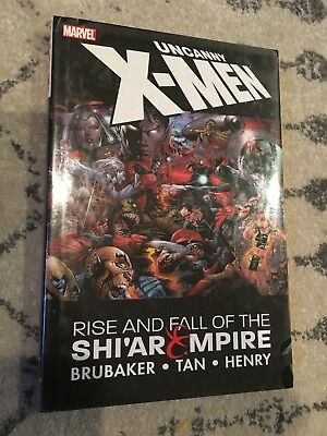 Uncanny X-men Rise and Fall of the Shi'ar Empire Hardcover NEW SEALED