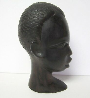 African American Man Carved Figurine