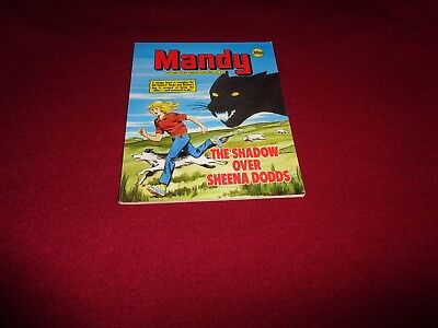 RARE MANDY  PICTURE STORY LIBRARY BOOK from the 1980's: never read:ex condit!