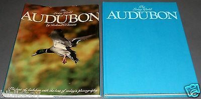 First Edition of The Living world of Audubon , Inscribed by the Author