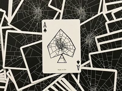 1 DECK Spider Web playing cards LIMITED EDITION!