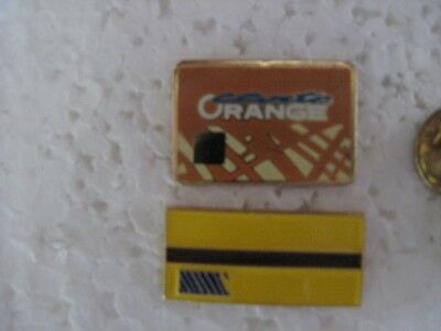 Pin's RATP carte orange et ticket