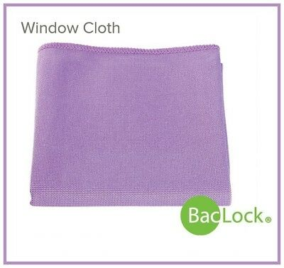 NORWEX WINDOW POLISHING CLOTH w/BacLock Chemical-free Window Cleaning! in PURPLE