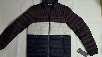 NEUF TOMMY HILFIGER HOMME Couette Puff Ultra Loft Veste TAILLE M ... 7015ca0207cb