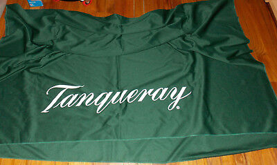 2 Tanqueray Gin Party/ Display Table Cloth Heavy Duty Think Fabric 60 x 80 VHTF