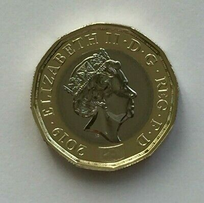 2019 £1 Coins New 12 Sided Brilliant Uncirculated One Pound Coin