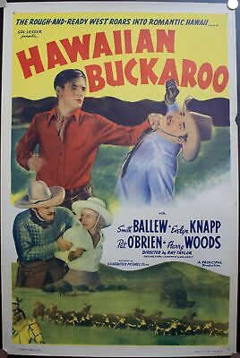 16x24 1938 Man Hunters of the Caribbean in the Unexplored Jungle Movie Poster
