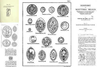 DVD 266 rare books on medieval european seals plombs sphragistics bulles