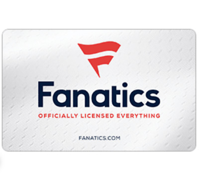$50 Fanatics Gift Card for $40 –Get NFL NHL NBA MLB Official Gear- Emailed