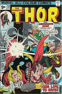 The Mighty Thor 236 - 1975 - Very Fine +