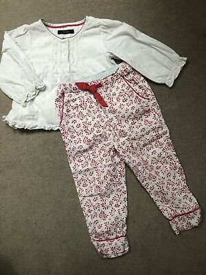 Marks And Spencer Autograph Girls Pyjamas Age 1-2 Years