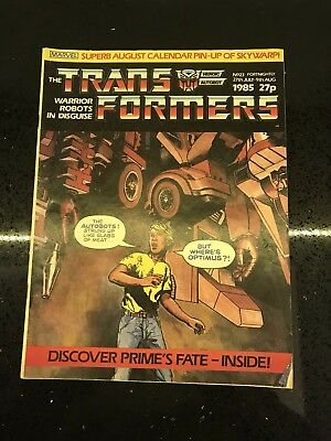 Transformers UK Comic Issue 23