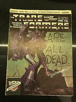 Transformers UK Comic Issue 22