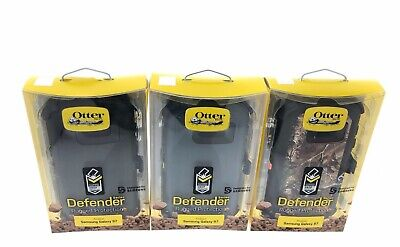 OEM Otterbox Defender Series Case for Samsung Galaxy S7 With Holster Camo Black