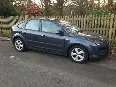 2006 Ford Focus 1.6 Zetec Climate Grey Petrol M.O.T Oct 2019 Read Fully Please