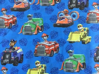 Paw Patrol #1 Crafts Printed Polycotton blend fabric 50*145cm