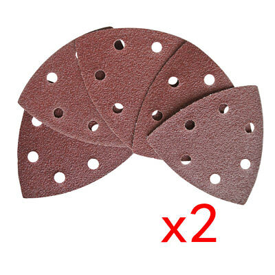 10Pc 90mm*90mm*90mm Sanding Disc For 6 Holes Sandpaper