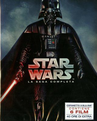 Star Wars La Saga Completa (Box 9 Br) - Blu-Ray