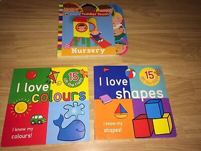 Baby Colour And Shape Books