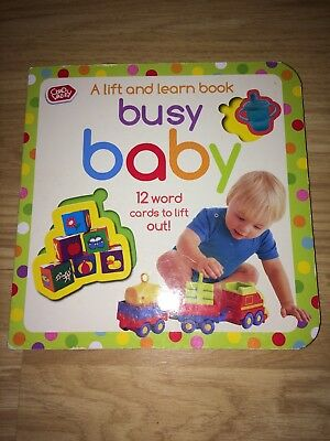 Chad Valley Busy Baby Puzzle Book