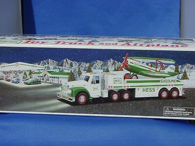 Hess  Toy Truck and Airplane--NEW--2002