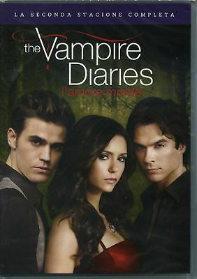 The Vampire Diaries Stg.2 L'Amore Morde (Box 5 Dvd) - DVD