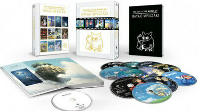 The Collected Works of Hayao Miyazaki 11 Movies Exclusive Content Box Set NEW US