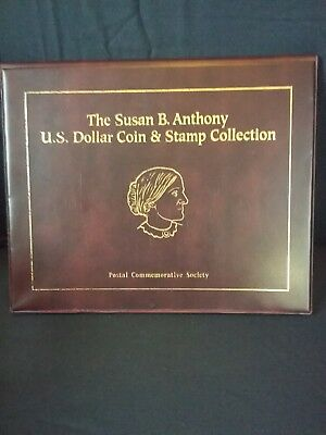 Susan B. Anthony Collection Postal Commemorative Society - Coins & Stamp
