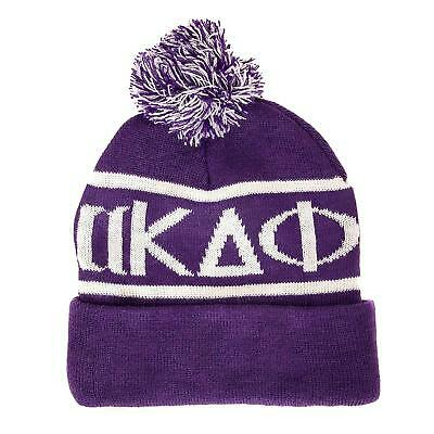 5321c3d6df751 alpha Kappa Delta Phi Letter Winter Beanie Hat Greek Cold Weather Winter  akdphi
