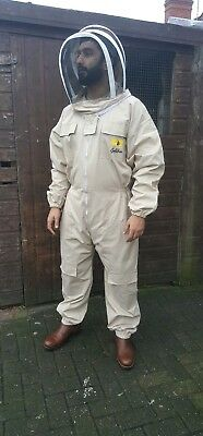 Mens Bee Suit -  Goldbee -  Professinal's Choice - Hard Wearing - Thick - L/m/s