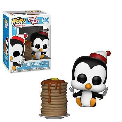 Funko Animation POP Chilly Willy With Pancakes Vinyl Figure NEW 32887 IN STOCK