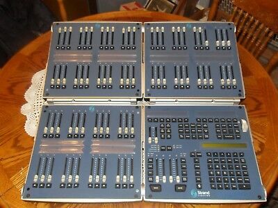 Strand Lighting 300 Series Fader And Command Consoles - Used & Working