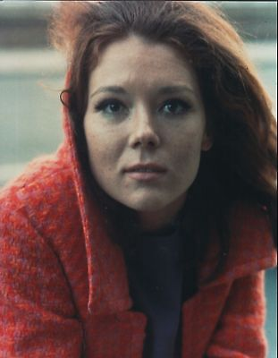 GLOSSY PHOTO PICTURE 8x10 Diana Rigg Posing