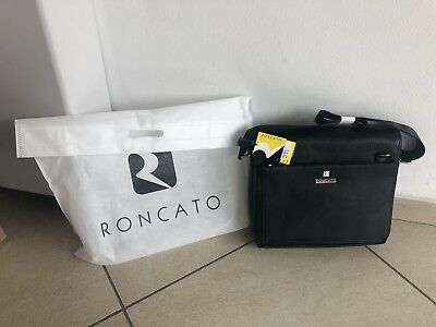269bfd9c91 BORSA PORTA PC Roncato Nera In Ecopelle Nuova - EUR 57,00 | PicClick IT