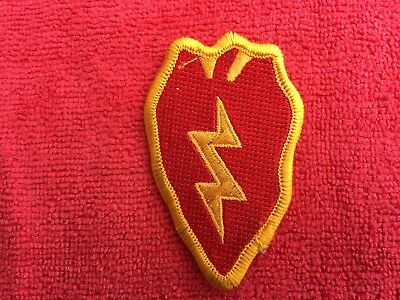 25th INFANTRY DIVISION PATCH ACU COLOR MERROWED EDGE STYLE #3