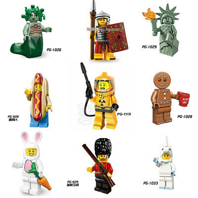 9x Custom Rare Collectible Minifigures - fit LEGO® Collectible Minifigure Series