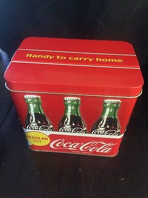 Coca Cola Tin Carry All