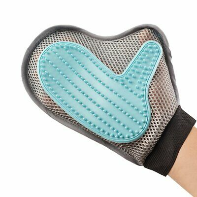 2-in-1 Pet Glove for Cat Dog Grooming Tool + Furniture Pet Hair Remover Mitt D..