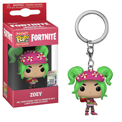 Funko Fortnite Pocket POP Zoey Vinyl Figure Keychain NEW IN STOCK Video Game
