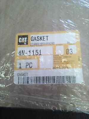 Genuine OEM Caterpillar CAT Gasket 4N-1151    V
