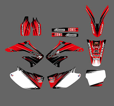 Graphics Stickers Kit Decals For Honda CRF450 CRF450R CRF 450 R 2002 2003 2004