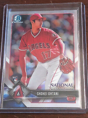 2018 Bowman Chrome Topps National Convention Veterans Rookies Stars YOU PICK