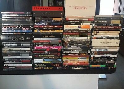 Lot Of Over 326 DVD'S All Like New Region 1 US Discs