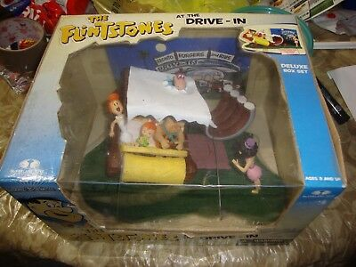 The Flintstones at The Drive-In - McFarlane Toys in box